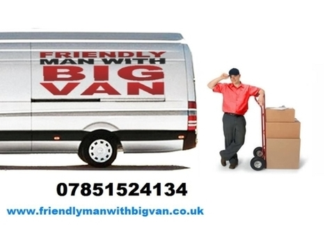 Friendly Man and Van 4 Hire | House Removals | ebay Collection & Delivery | nationwide courier | Man With A Van | Scoop.it