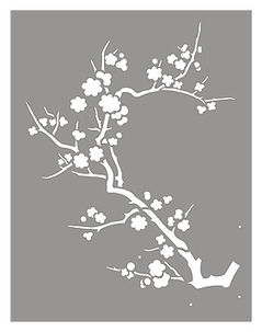 Contemporary Japanese cherry blossom motif | Year 4 Maths: Japanese Motifs | Scoop.it