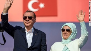 Turkey's Erdogan tells million-strong unity rally: I support death penalty | Skin care products | Scoop.it