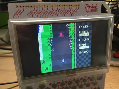 Get Started with Retro Arch and Game Boy Color Emulation on PocketC.H.I.P. | Open Source Hardware News | Scoop.it