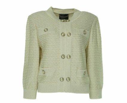 St John Couture Women's Zip Front Jacket Cream 10 | Big Deals Fashion Today | Scoop.it