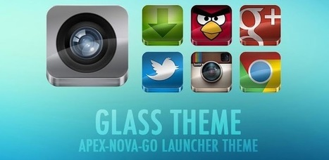 GLASS APEX NOVA GO THEME v2.4 (paid) apk download | ApkCruze-Free Android Apps,Games Download From Android Market | Android Apps And Games ApkLife.com | Scoop.it
