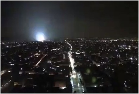 Earthquake Creates Weird Lightshow Over Mexico City | Vloasis vlogging | Scoop.it