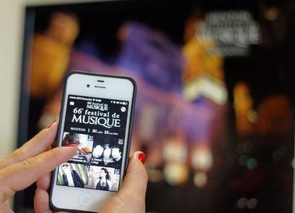 Le festival de musique de Menton lance son application pour smartphones | Clic France | Scoop.it