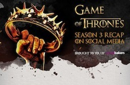 Game Of Thrones Dominated Social Media This Season [INFOGRAPHIC] - AllTwitter | Gouvernance web - Quelles stratégies web  ? | Scoop.it