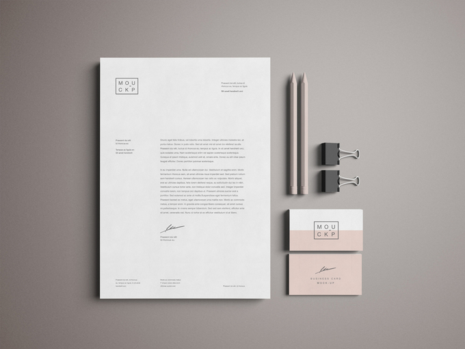 Advanced Branding & Stationery Psd Mockup - Theme Raid