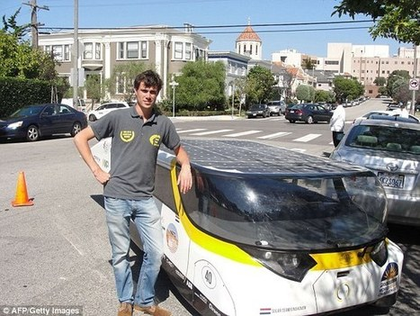 Meet Stella, the solar powered electric car that can drive 500 miles | Chasing the Future | Scoop.it