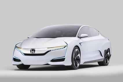Honda FCV Concept fuel-cell vehicle makes debut in Detroit | Sciences & Technology | Scoop.it
