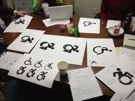 How A Guerrilla Art Project Gave Birth To NYC's New Wheelchair Symbol | What's new in Visual Communication? | Scoop.it