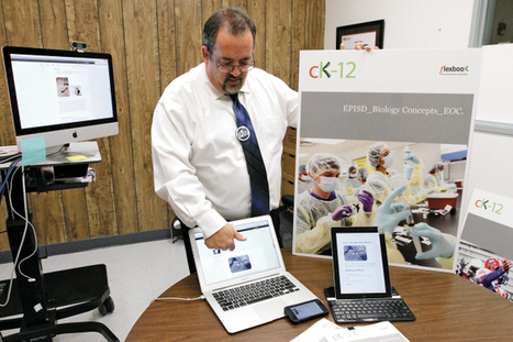 EPISD switches to e-books for high school science | e-Books and e-Textbooks | Scoop.it