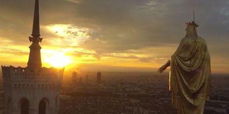 VIDEO – Filmée par un drone, Lyon comme vous ne l'avez jamais vue - metronews | Drôles de drones | Scoop.it