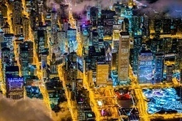 Cities from the air by night – in pictures | Navigate | Scoop.it