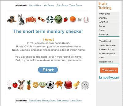 The short term memory checker | ACTIVITATS EDUCATIVES | Scoop.it