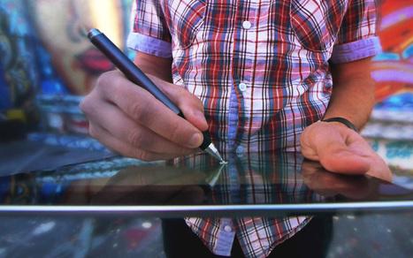 Adonit's Jot Touch Pressure Sensitive Stylus for iPad | Art World. | Scoop.it