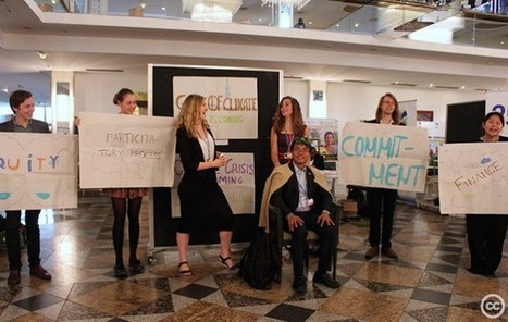 Youth #climate activists take a stand at #UN talks in #Bonn | Messenger for mother Earth | Scoop.it