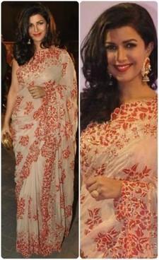 Nimrat Kaur Saree   Fashion   Scoop.it