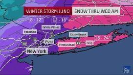 Winter Storm Juno: Tracking Hour By Hour | Weather And Disasters | Scoop.it