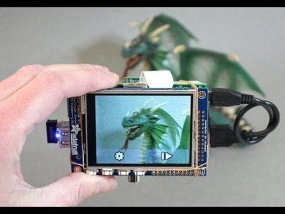 Build A Raspberry Pi-Powered Touchscreen Point-And-Shoot Camera   Raspberry Pi   Scoop.it