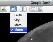 Want to explore the moon? Exploring the moon in Google Earth - Google Earth Blog   Intriguing Connections   Scoop.it
