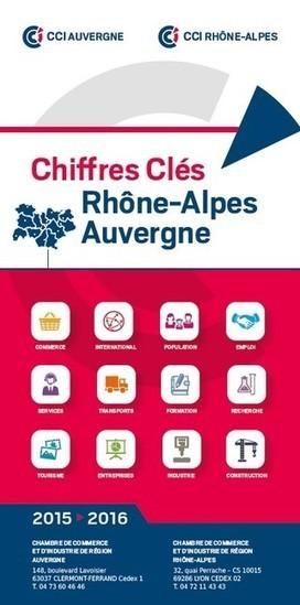 Auvergne-Rhône-Alpes : les chiffres clés de l'économie par les CCI | Intelligence economique et stratégique | Scoop.it