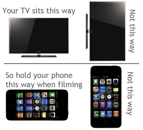 The Single Most Important Tip for Recording Video on iPhone   mobile devices and apps in the classroom   Scoop.it