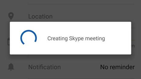 You Can Now Schedule Skype Calls In Outlook Calendar | Tools You Can Use | Scoop.it
