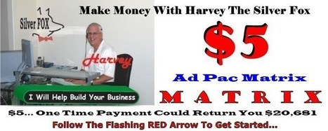 Silver Fox Google Style Ad Pac Forced Matrix System   Make $80 Every Membership You Sell Paid Weekly - Free To Join - Free To Sell!   Scoop.it
