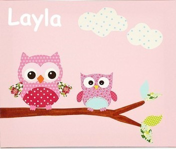Magic of Colourful and Informative Canvas Artwork ! | Named Personalised Baby & Kids Gift | Scoop.it