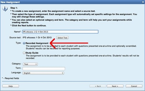 How to Assign eAssessments to Missing Students | Lessonarium | Digital school test | Scoop.it