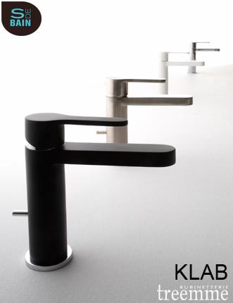 Collection de robinetterie de salle de bain Klab - TREEMME | Design de la salle bain | Scoop.it