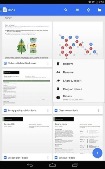 Google for Education: Google Docs: Basics | Using Google Drive in the classroom | Scoop.it