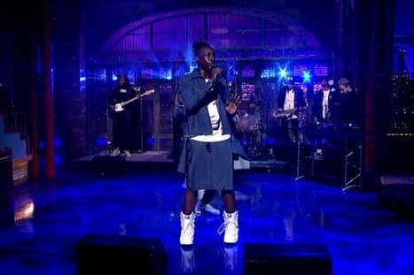 Watch Le1f on Letterman | MOVIES VIDEOS & PICS | Scoop.it
