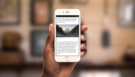 Bringing 360 Videos and Photos into Instant Articles | RJI links | Scoop.it