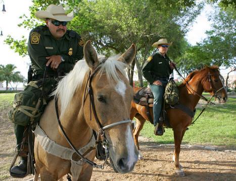 Patrulla fronteriza a caballo mantiene una tradición de 90 años - hoylosangeles | Caballo, Caballos | Scoop.it
