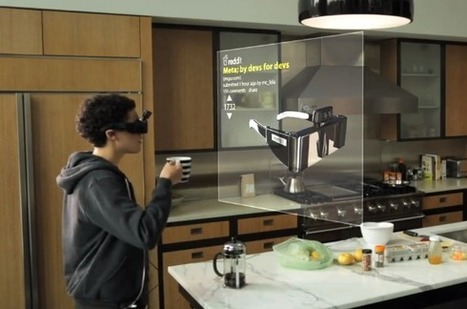 Meta's AR headset lets you play with virtual objects in 3D space | KurzweilAI | VR & Simulations | Scoop.it
