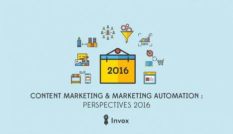 Une année de Content Marketing & Marketing Automation : 2016 en perspectives par Guilhem Bertholet | Web et reseaux sociaux | Scoop.it