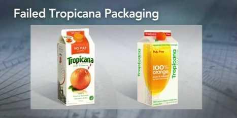 This Logo Change Caused Tropicana Sales To Plunge | Identité visuelle | Scoop.it