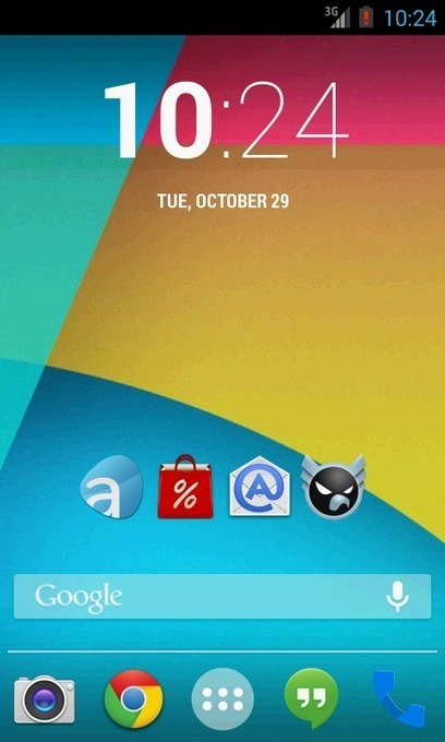 Android 4.4 Kitkat Theme v2.5   ApkLife-Android Apps Games Themes   kitkat   Scoop.it