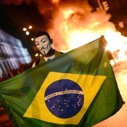 Massenproteste gegen WM und Olympia: Brasilianer erheben sich gegen Milliardensportfeste - SPIEGEL ONLINE | Fußball in Brasilien | Scoop.it