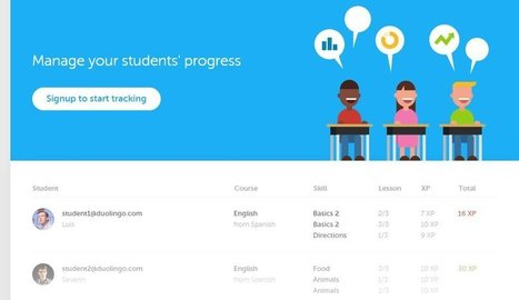 Duolingo For Schools Opened Today, It's Free and Here's How It Works | Larry Ferlazzo's / WD | 21st Century TESOL Resources | Scoop.it