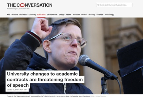 University changes to academic contracts are threatening freedom of speech | Higher Education Teaching and Learning | Scoop.it