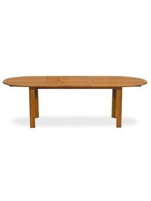 FIORDALISO 120-150-190 allungabile in legno di eucalipto ovale tavolo per esterno - Livitalia Design | Poltrona Relax personale comodità e riposo | Scoop.it