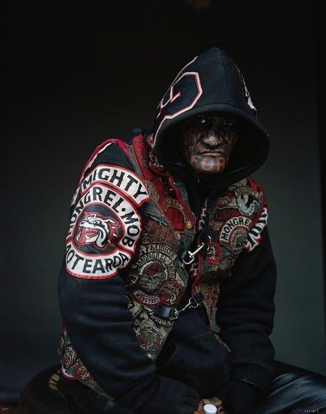 These Stunning Photos of New Zealand's Largest Gang Will Give You Sleepless Nights | VICE | United States | Criminology and Economic Theory | Scoop.it