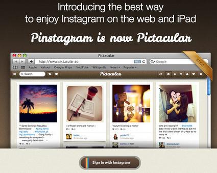 5 services Web pour profiter pleinement de Instagram | Technologie Au Quotidien | Scoop.it