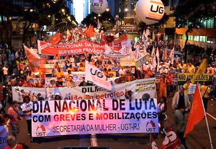 The Mass Protests in Brazil in June-July 2013 - Center for Research on Globalization | (SPAN) Research List on Citizen Journalism and Media Activism | Scoop.it