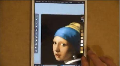 Impressive iPad Finger Painting | Matmi Staff finds... | Scoop.it