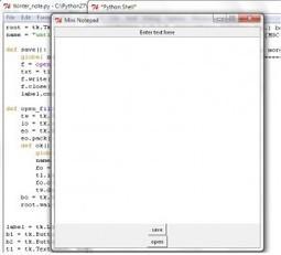 Mini Notepad in Python using Tkinter | Web | Scoop.it