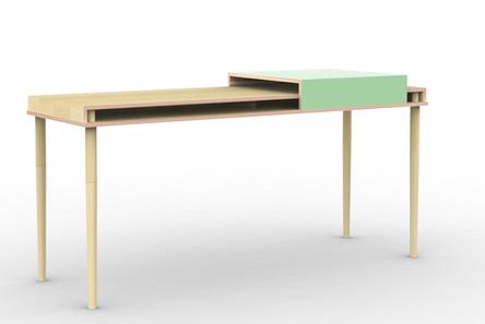 Bureau Dans les coulisses | Projet | unquidesigners | Du mobilier, ou le cahier des tendances détonantes | Scoop.it