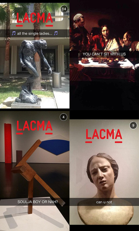 LACMA is the first Museum to join Snapchat | Muséogeekeries etc... | Scoop.it