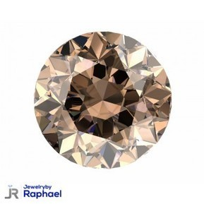 2.01 Carat Natural Fancy Champagne I1 100% Natural Round Diamond CT Excellent Cut set in 14K WG 4 Prong Ring Under 1000.00!! | jewelrybyraphael | Scoop.it